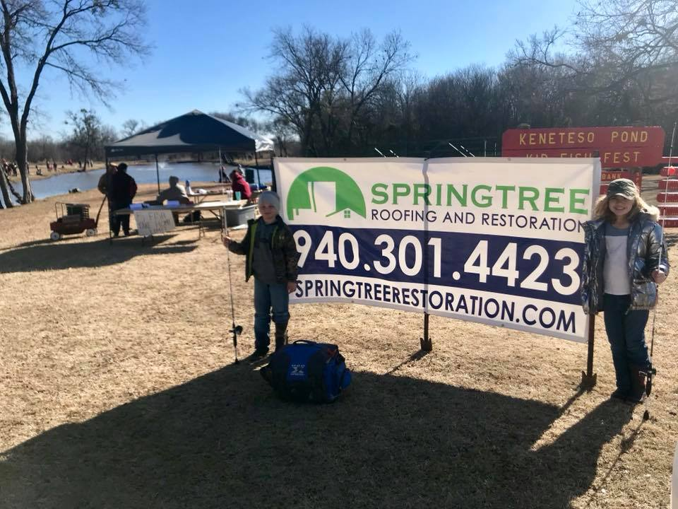 spring tree restoration gives back to mater filius community service project in Dallas