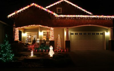 How to Safely Hang Holiday Lights from Your Roof