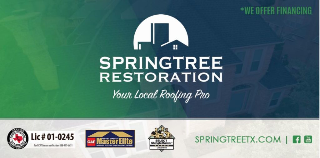 Springtree Restoration Texas Roofers During COVID